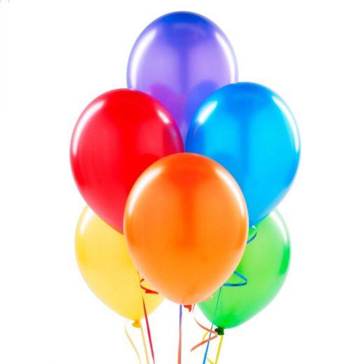 Helium metallic ballon( gevuld )