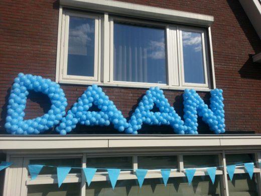 Ballonnen letters