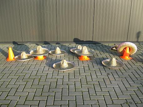 Sombrero gooien
