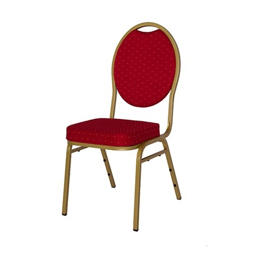 Stackchair stoel rood