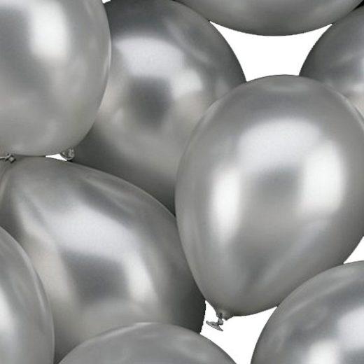 Ballon metallic 30 cm ( helium waardig )